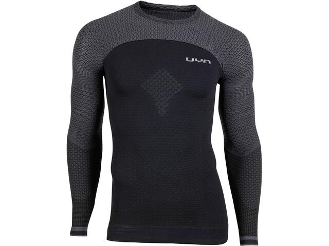 UYN Running Alpha OW LS Shirt Men blackboard/charcoal